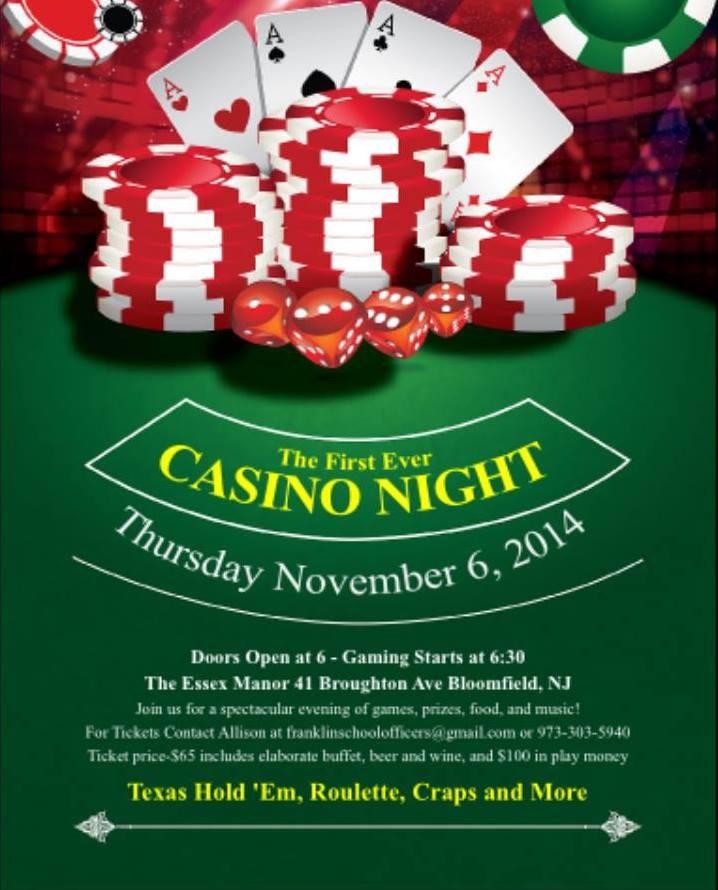 franklin casino night